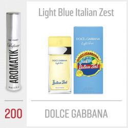 200 - DOLCE GABBANA / Light Blue Italian Zest