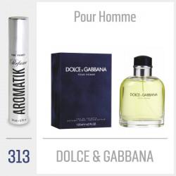 313 - DOLCE & GABBANA / Pour Homme