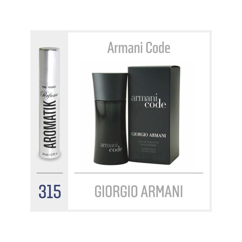 315 - GIORGIO ARMANI / Armani Code