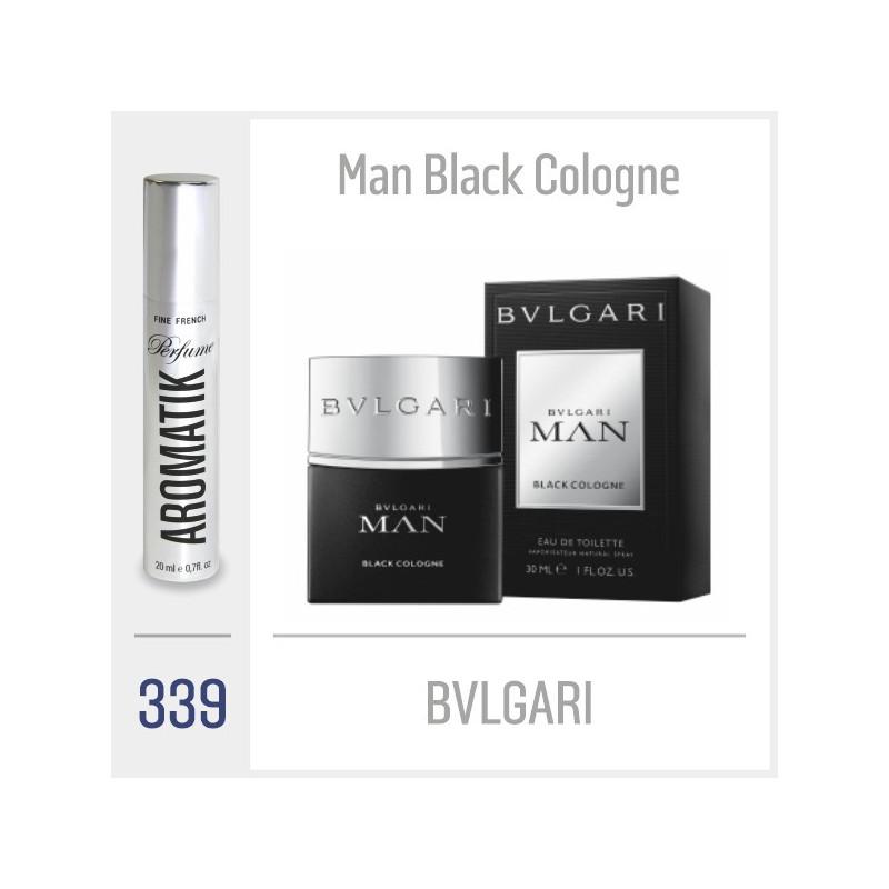 339 - BVLGARI / Man Black Cologne