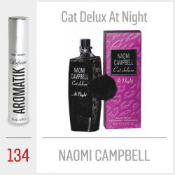 134 - NAOMI CAMPBELL / Cat Delux At Night