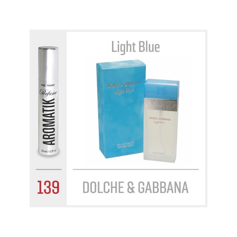 139 - DOLCHE & GABBANA / Light Blue