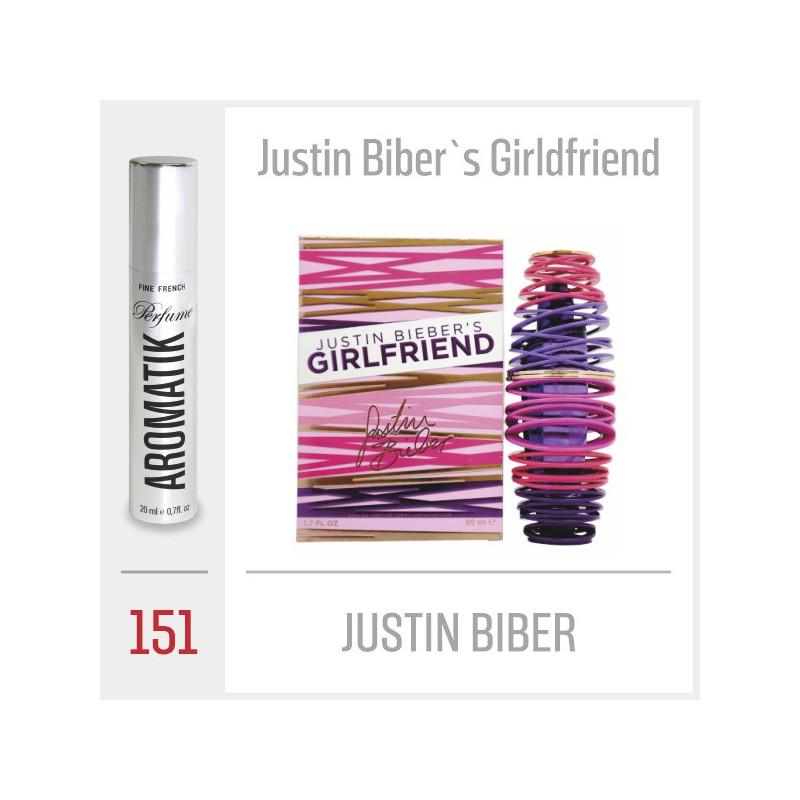 151 - JUSTIN BIBER / Justin Biber`s Girlfriend