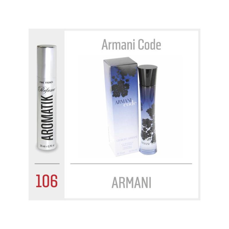 106 - ARMANI / Armani Code