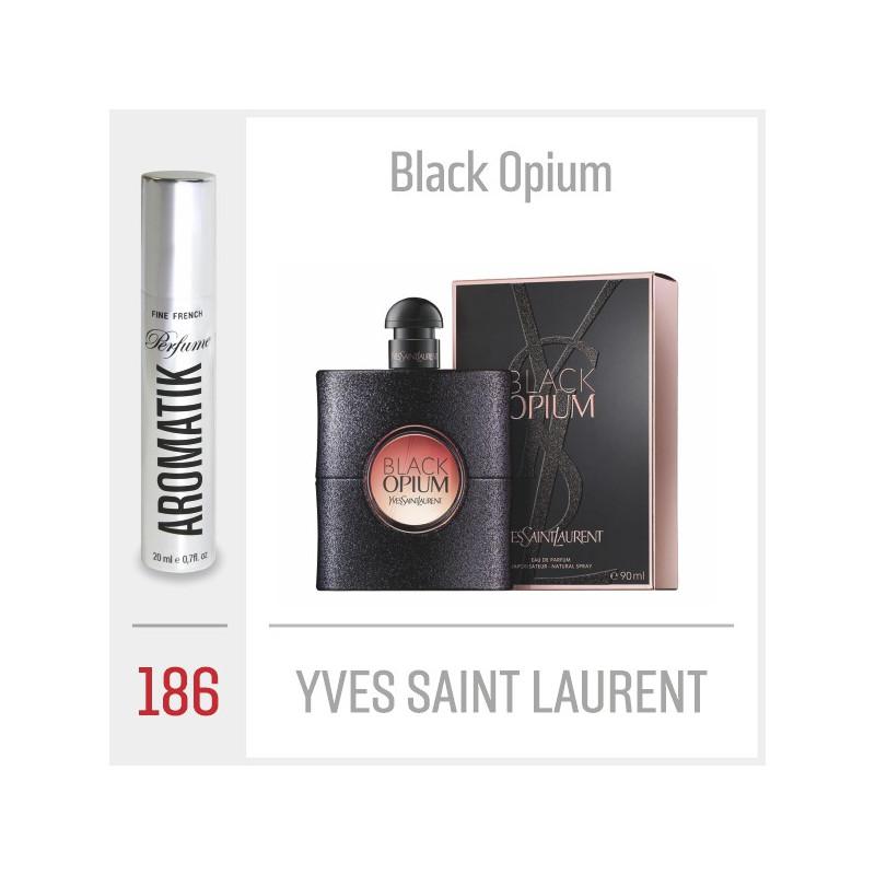 186 - YVES SAINT LAURENT - Black Opium