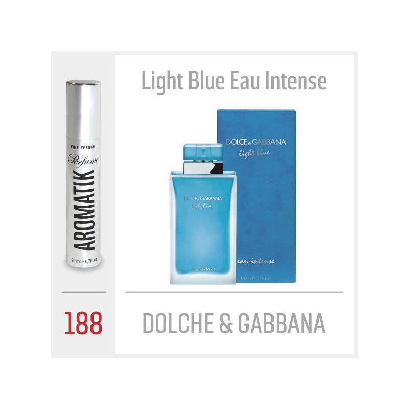 188 - DOLCHE & GABBANA - Light Blue Eau Intense